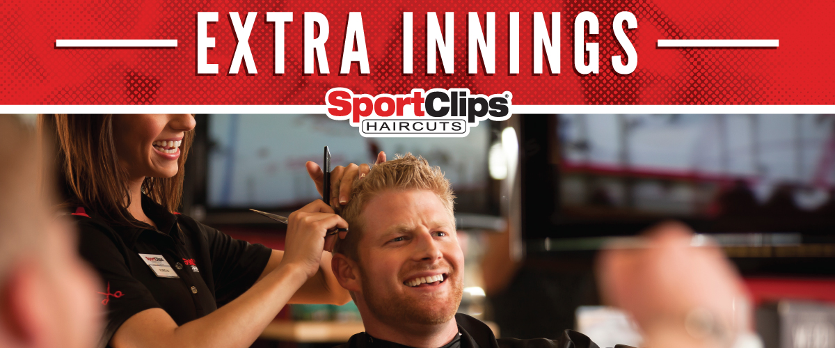 The Sport Clips Haircuts of Clearwater - Courtyard at Countryside  Extra Innings Offerings